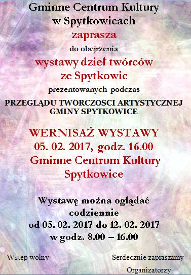 zaproszenie wystawa
